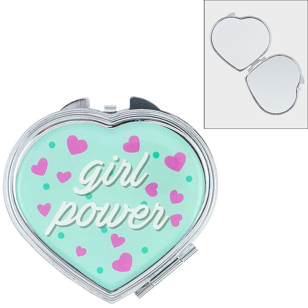 Girl Power Heart Compact Image #1