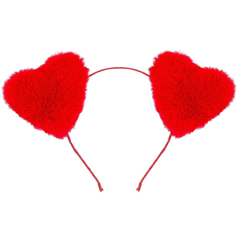 Plush Heart Headband Image #1