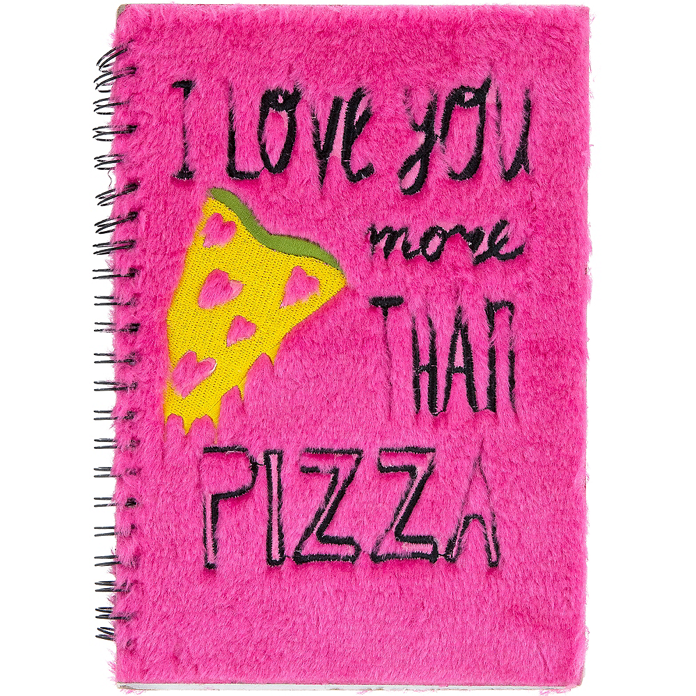 I Love You More Than Pizza Notebook Image #1