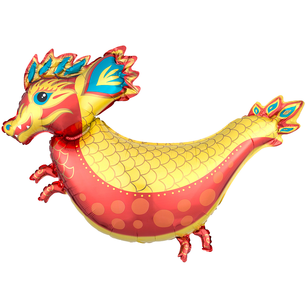 Chinese New Year Dragon Balloon 38in x 30in | Party City