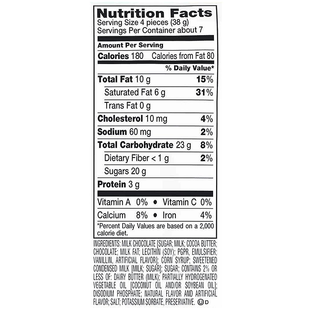 Hershey's Caramel Apple Filled Milk Chocolates Image #3