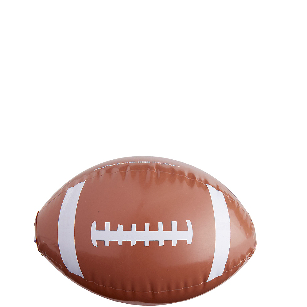 Inflatable Footballs 12ct Image #1