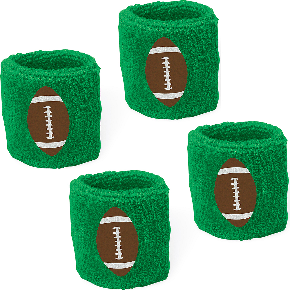 Football Sweatbands 2ct Image #1