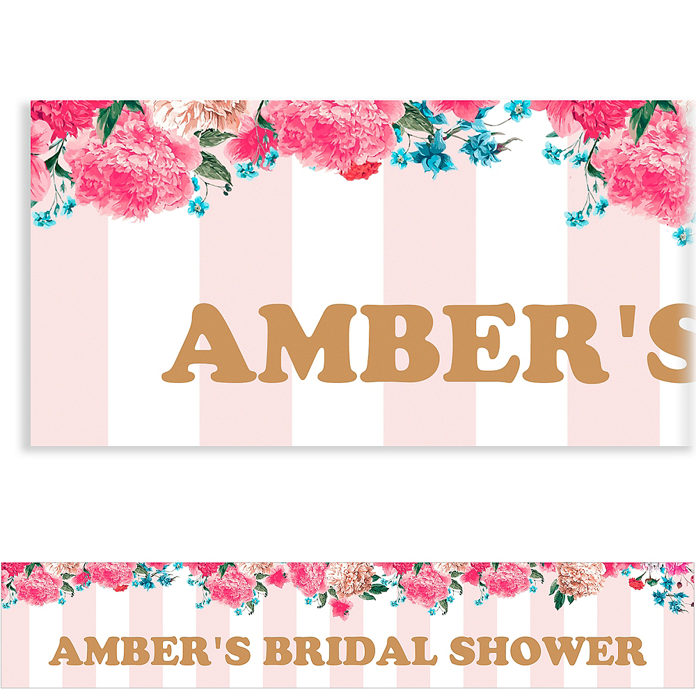 Custom Cheers to the Bride Banner Image #1