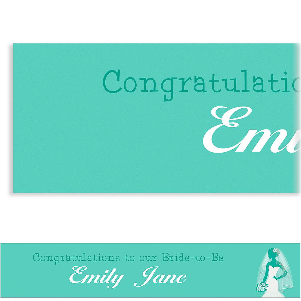 Custom Mint Bride Silhouette Banner Image #1