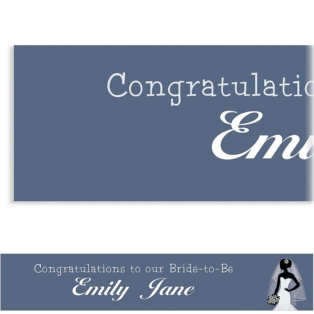 Custom Onyx Bride Silhouette Banner Image #1