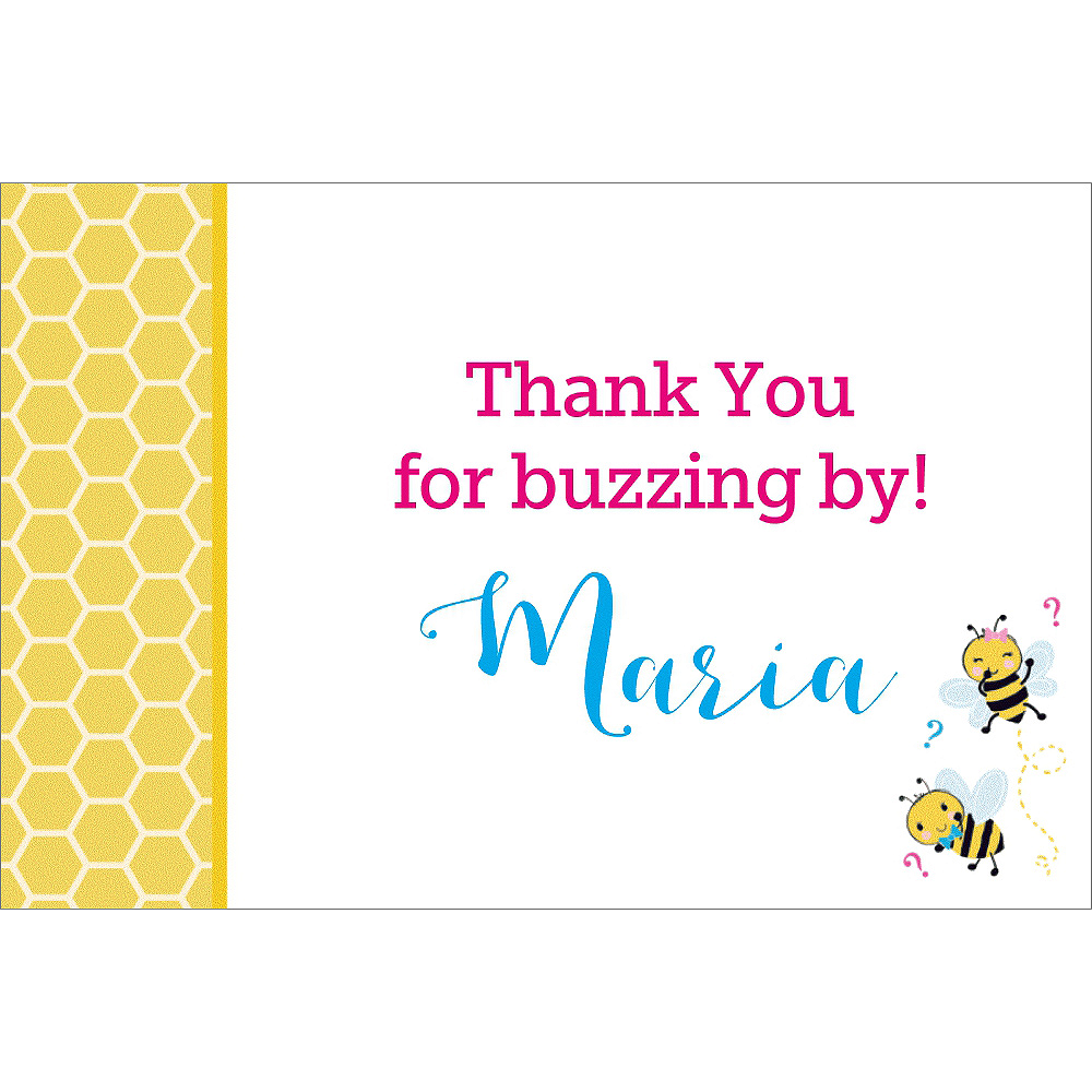 Nav Item for Custom What Will it Bee Thank You Notes Image #1