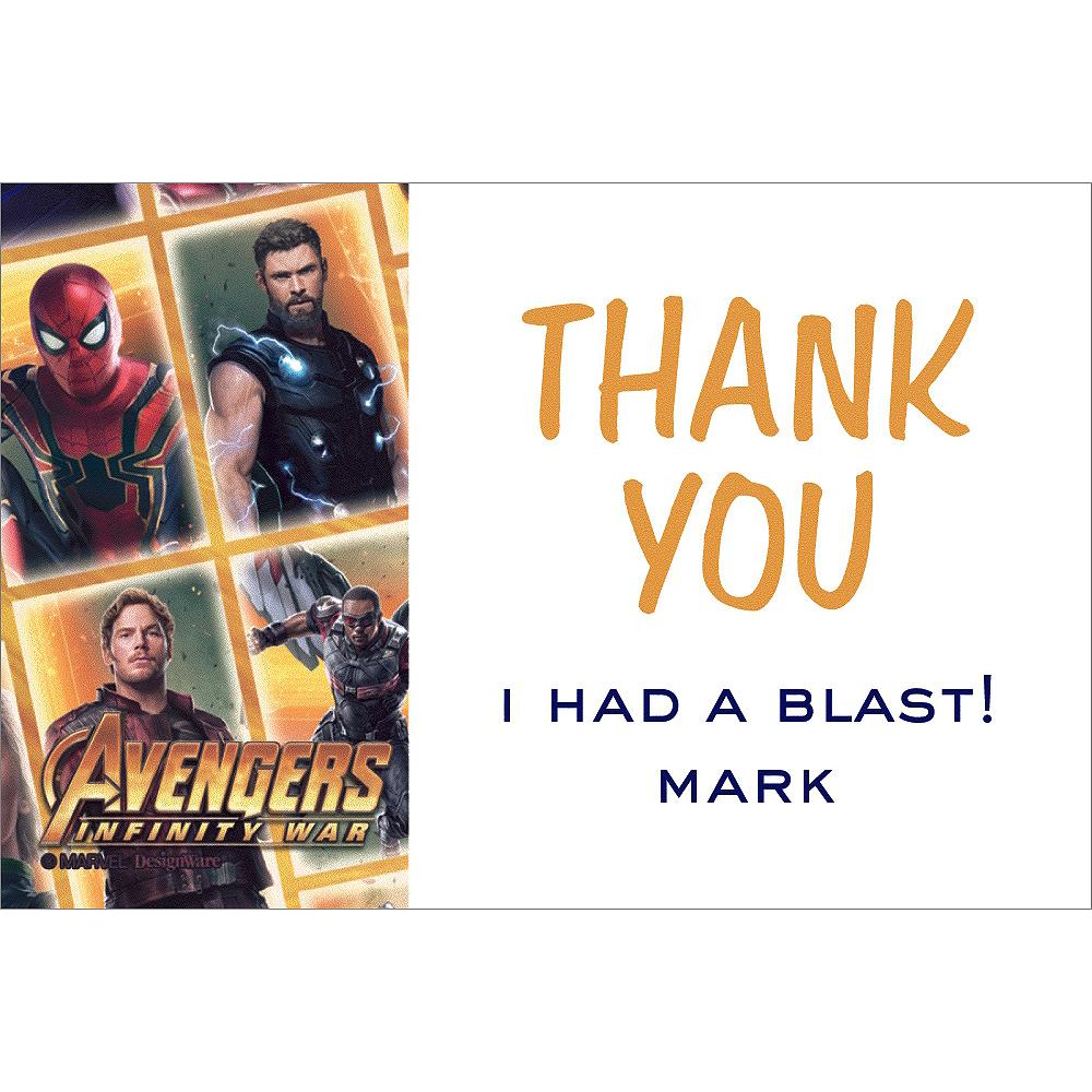 Custom Avengers Thank You Notes Image #1