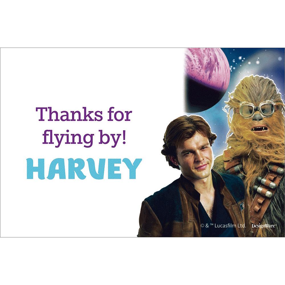 Custom Han Solo Thank You Notes Image #1