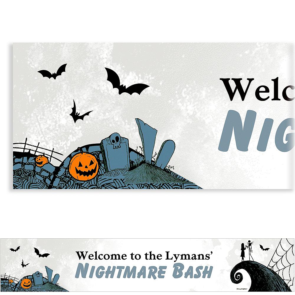Custom Nightmare Before Christmas Banner Image #1