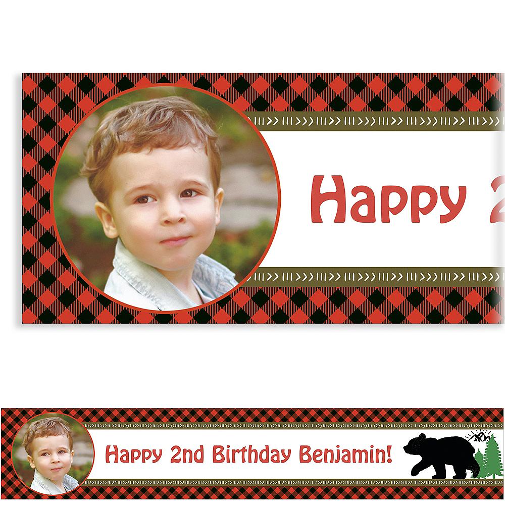 Custom Woodland Bear Photo Banner Image #1
