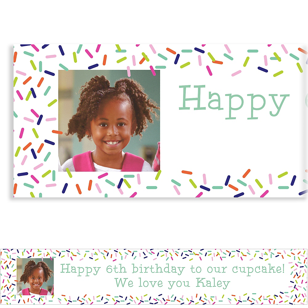 Nav Item for Custom Colorful Sprinkles Photo Banner Image #1