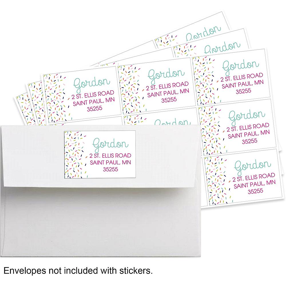 Custom Colorful Sprinkles Stickers Image #1