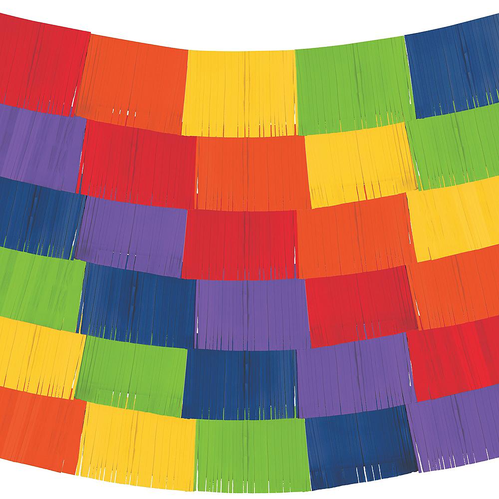 Rainbow Fringe Banners 9ct Image #2