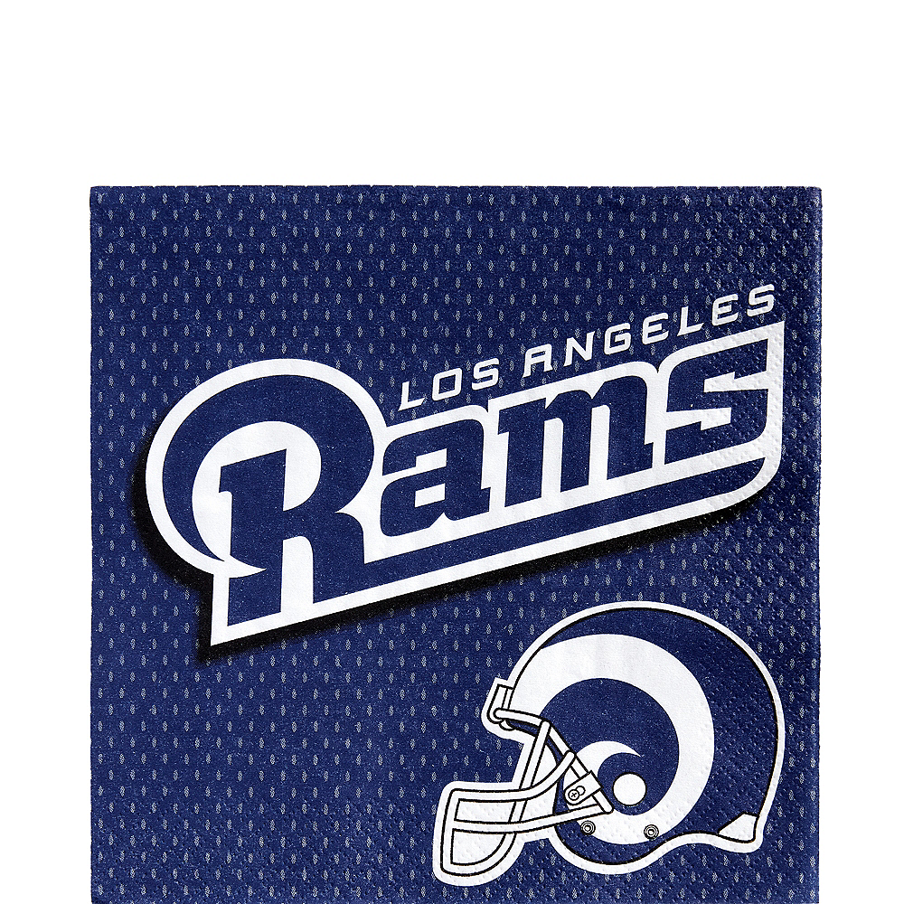 Los Angeles Rams Lunch Napkins 36ct Image #1