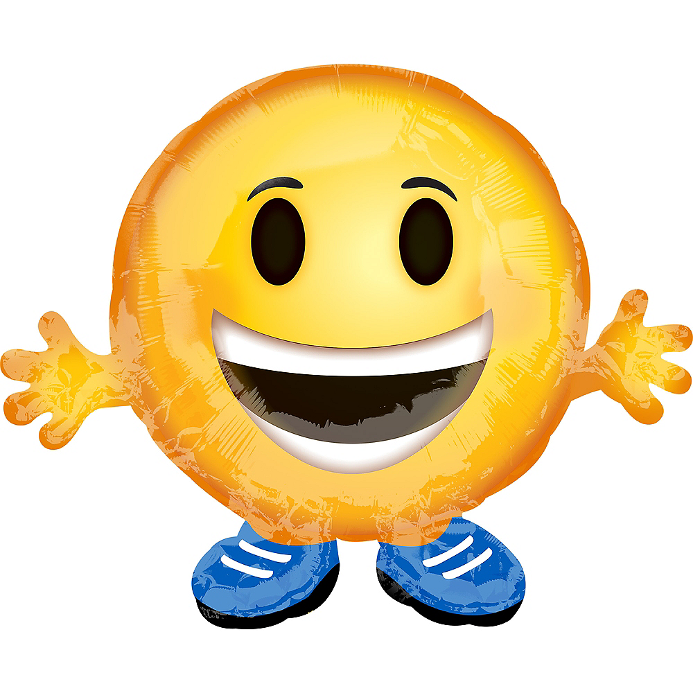 Hands Out Smiley Balloon Image #1