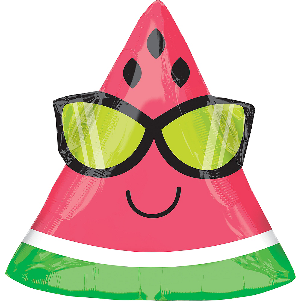 Sunglasses Watermelon Balloon Image #1