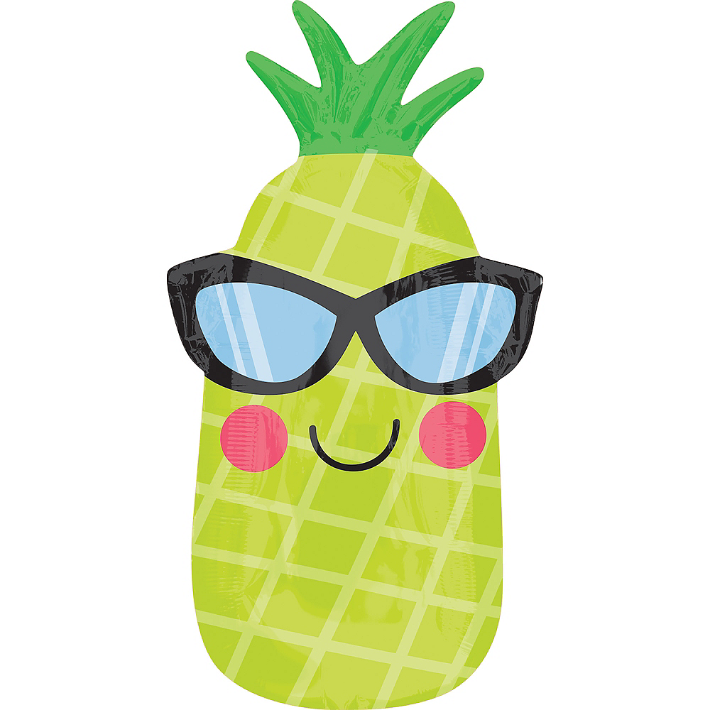 Sunglasses Pineapple Balloon, 26in Image #1