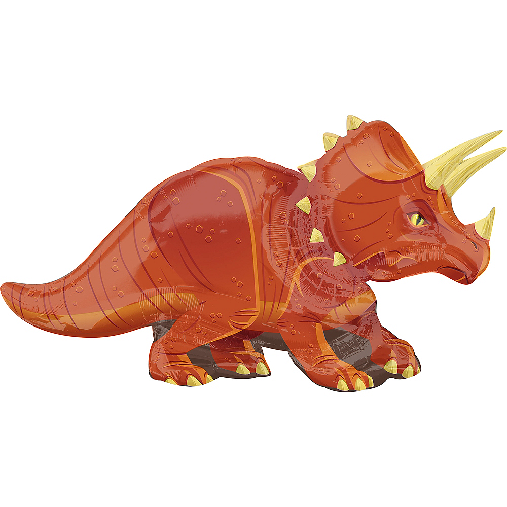 Giant Triceratops Balloon, 42in Image #1