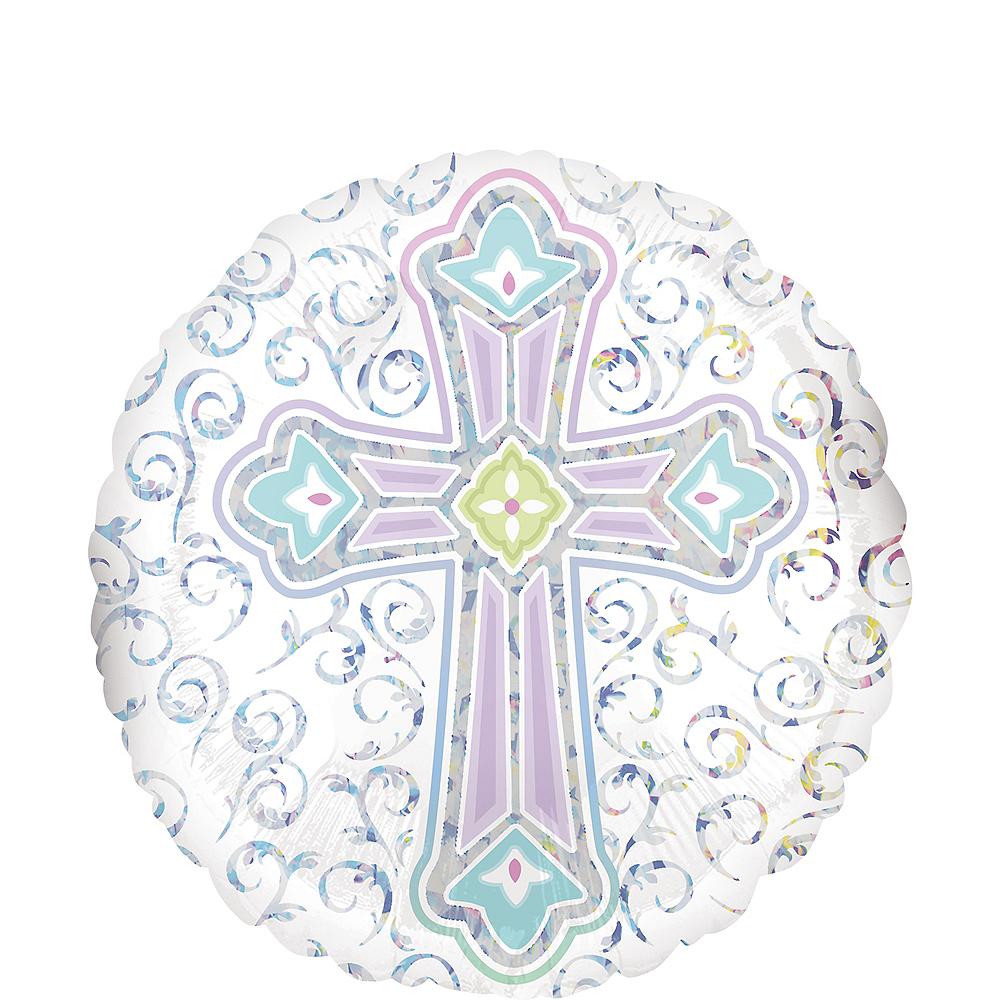 Pastel Cross Balloon Image #1