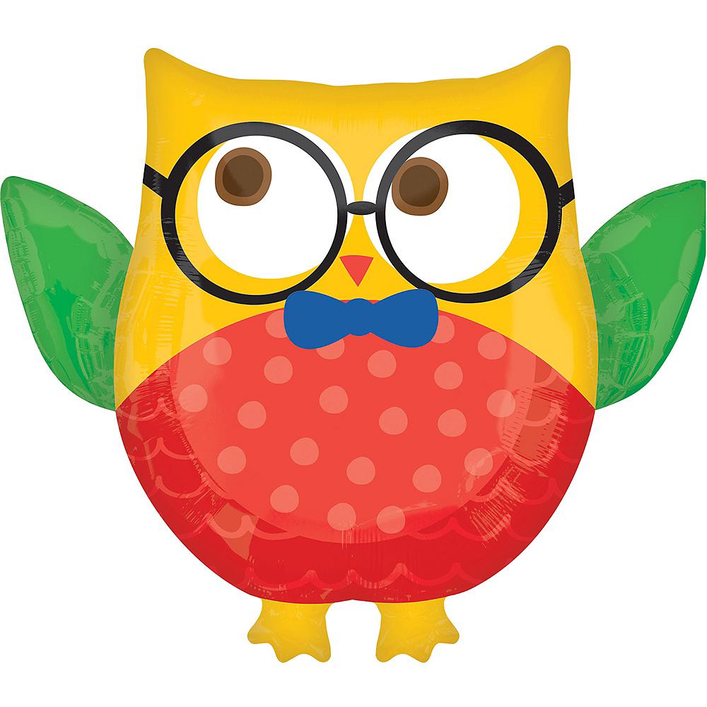 Giant Smart Owl Balloon, 30in Image #1