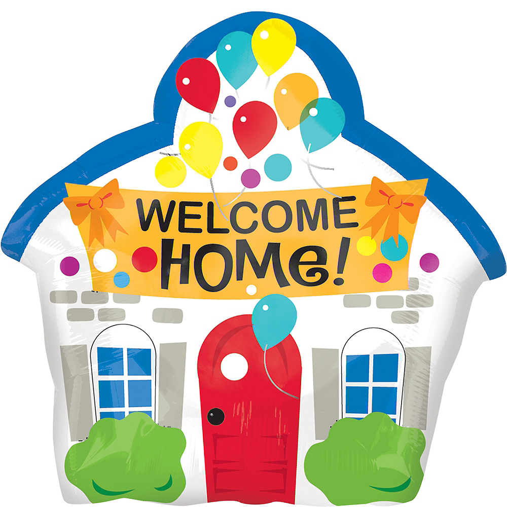 Welcome Home House Balloon Image #1