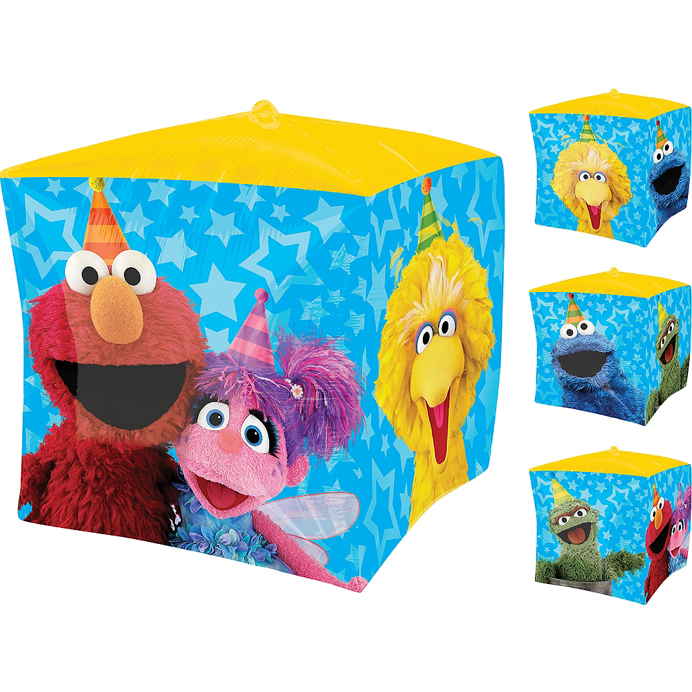 Sesame Street Balloon - Cubez, 15in Image #1
