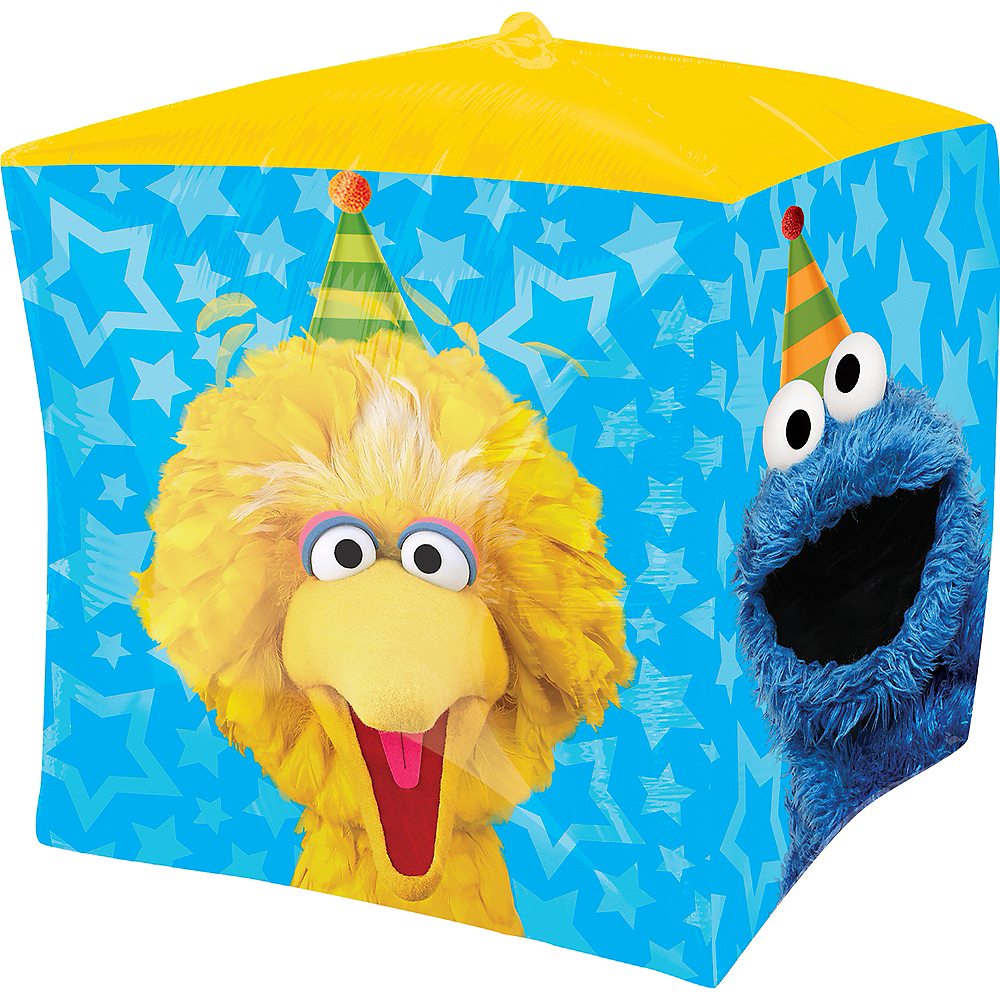 Sesame Street Balloon - Cubez, 15in Image #2