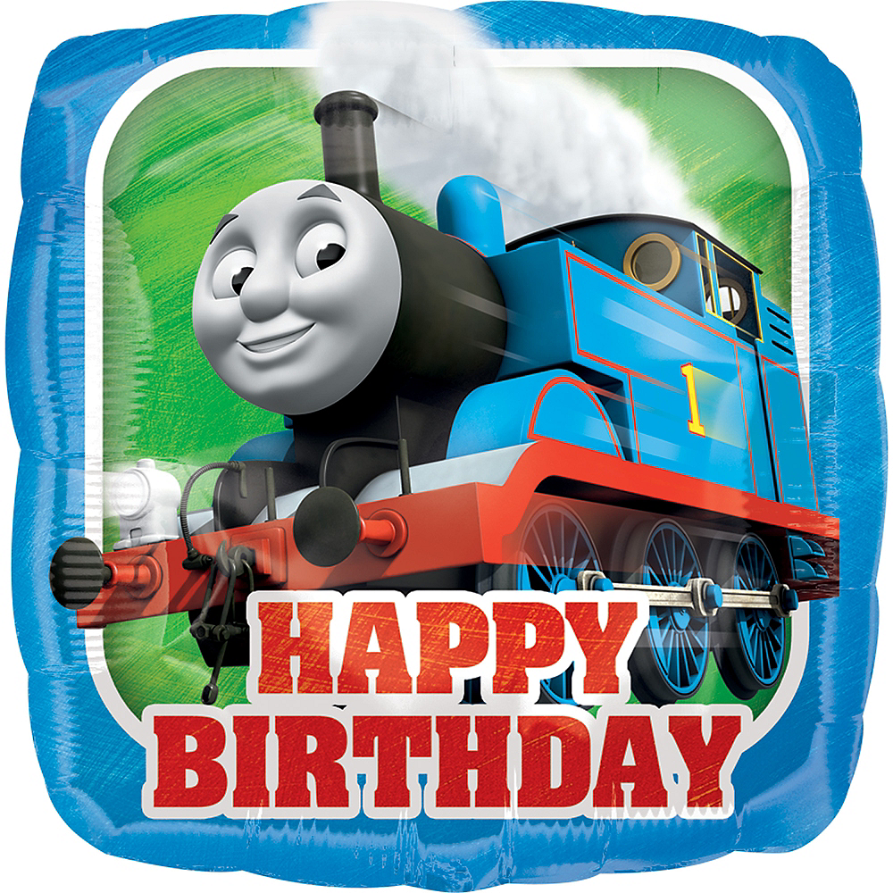Thomas the Tank Engine Birthday Balloon Image #1