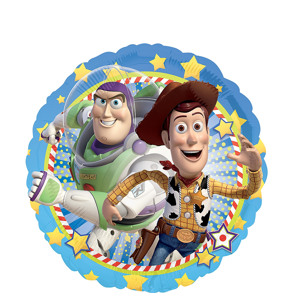 Nav Item for Woody & Buzz Balloon - Toy Story Image #1