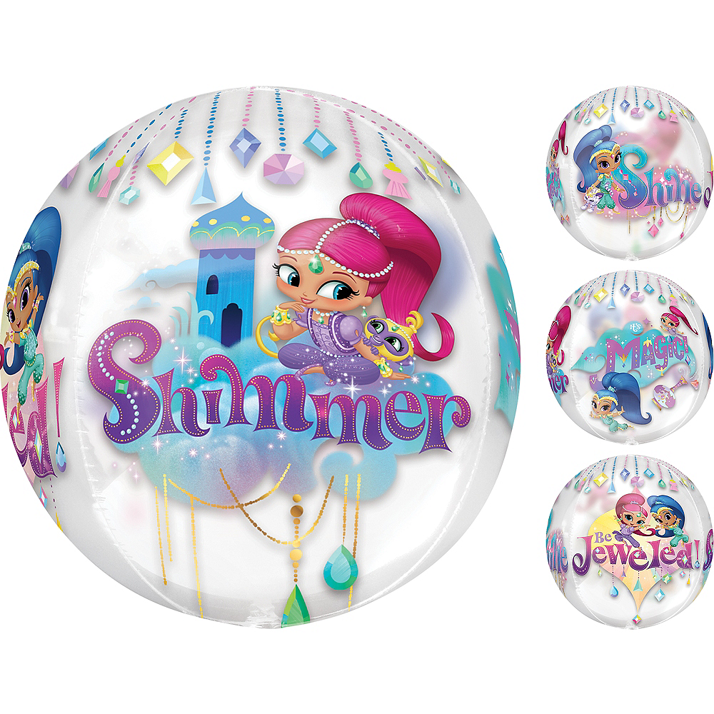 Nav Item for Shimmer and Shine Balloon - See Thru Orbz Image #1