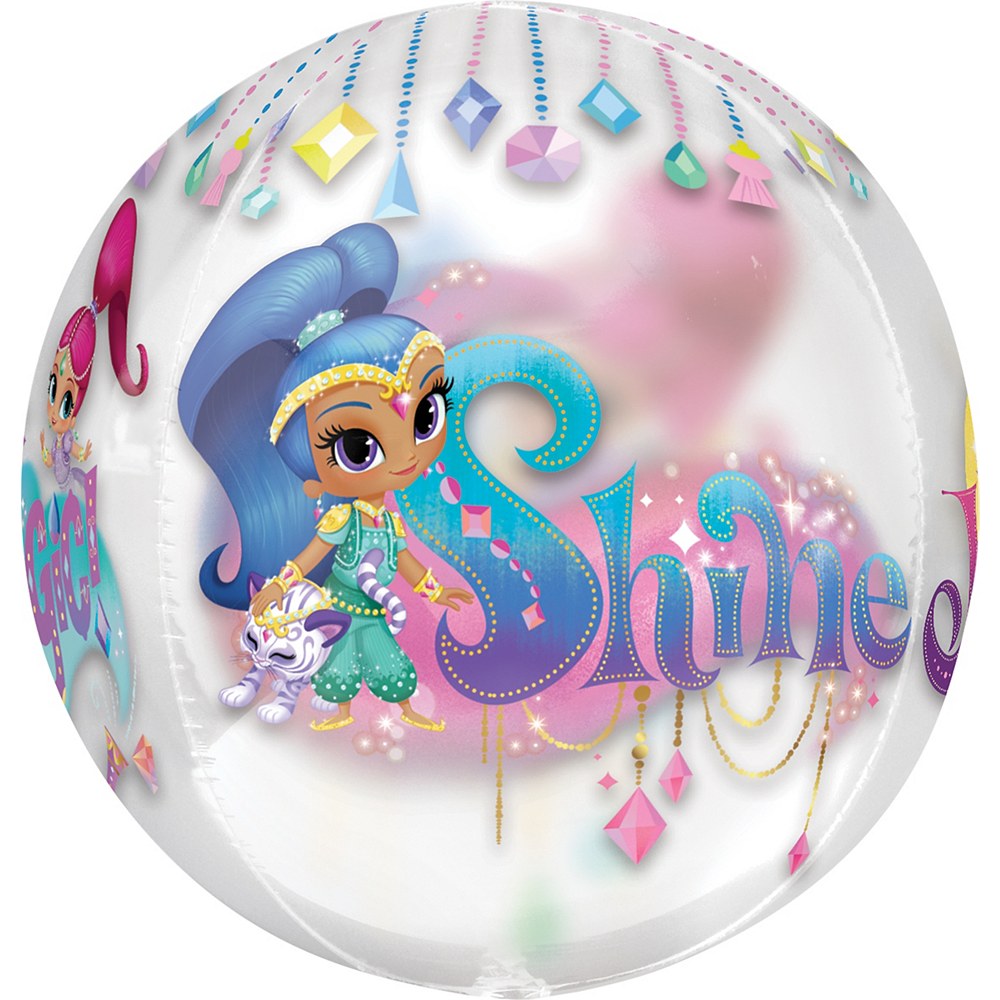 Nav Item for Shimmer and Shine Balloon - See Thru Orbz Image #2
