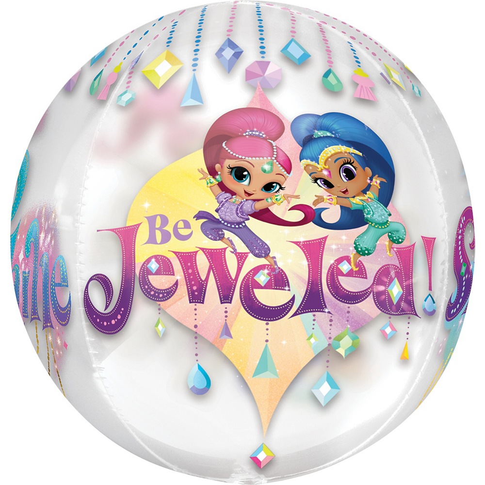 Shimmer and Shine Balloon - See Thru Orbz Image #4
