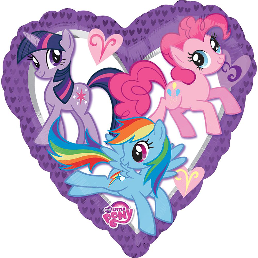 My Little Pony Heart Balloon Image #1