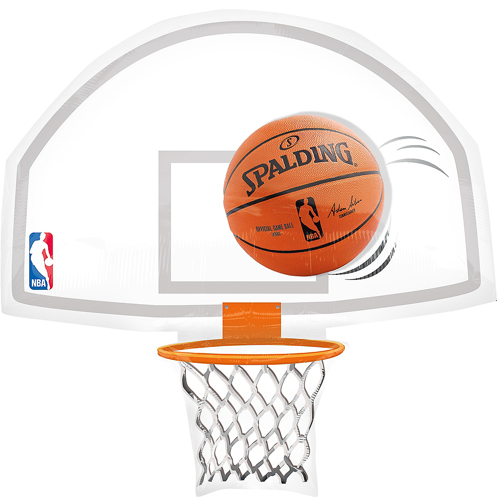 NBA Basketball Hoop Balloon Image #1