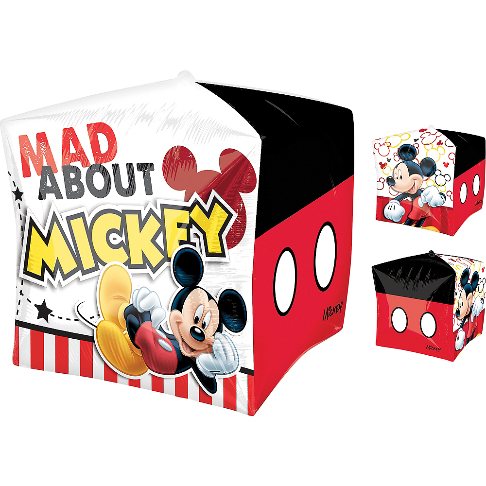 Mickey Mouse Balloon - Cubez, 15in Image #1