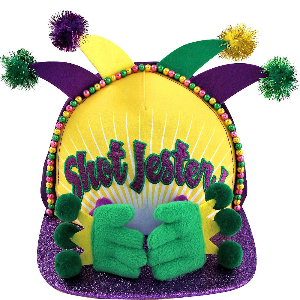 Shot Jester Mardi Gras Baseball Cap Image #1
