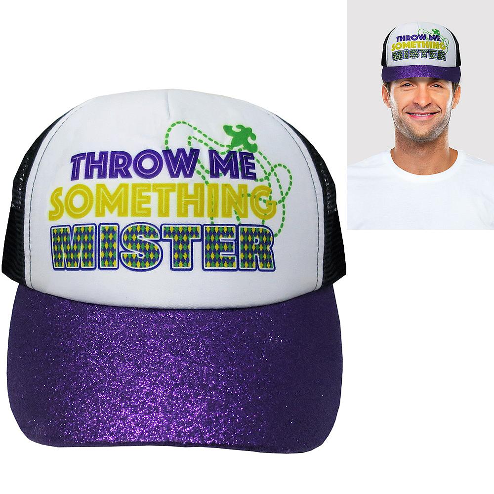 Throw Me Something Mister Trucker Hat Image #1