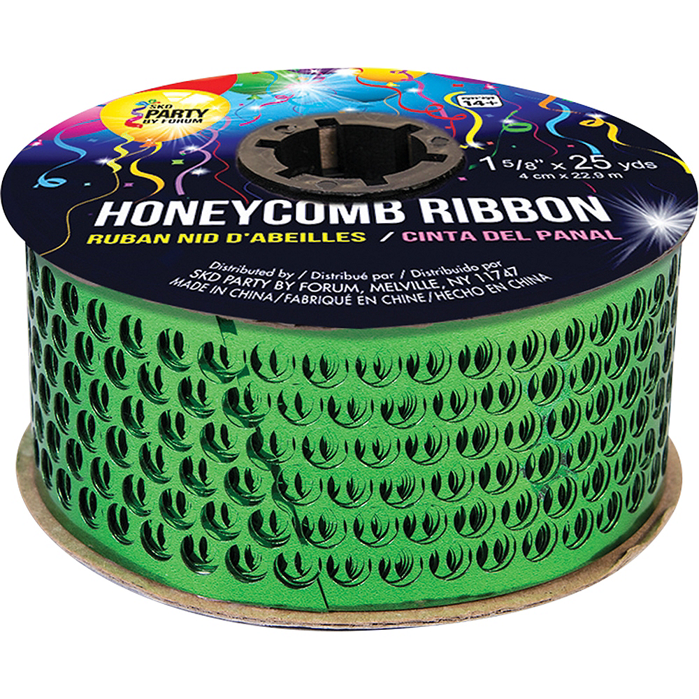 Green Honeycomb Ribbon Image #1