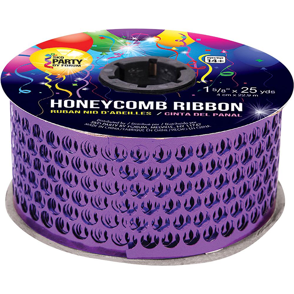 Purple Honeycomb Ribbon Image #1