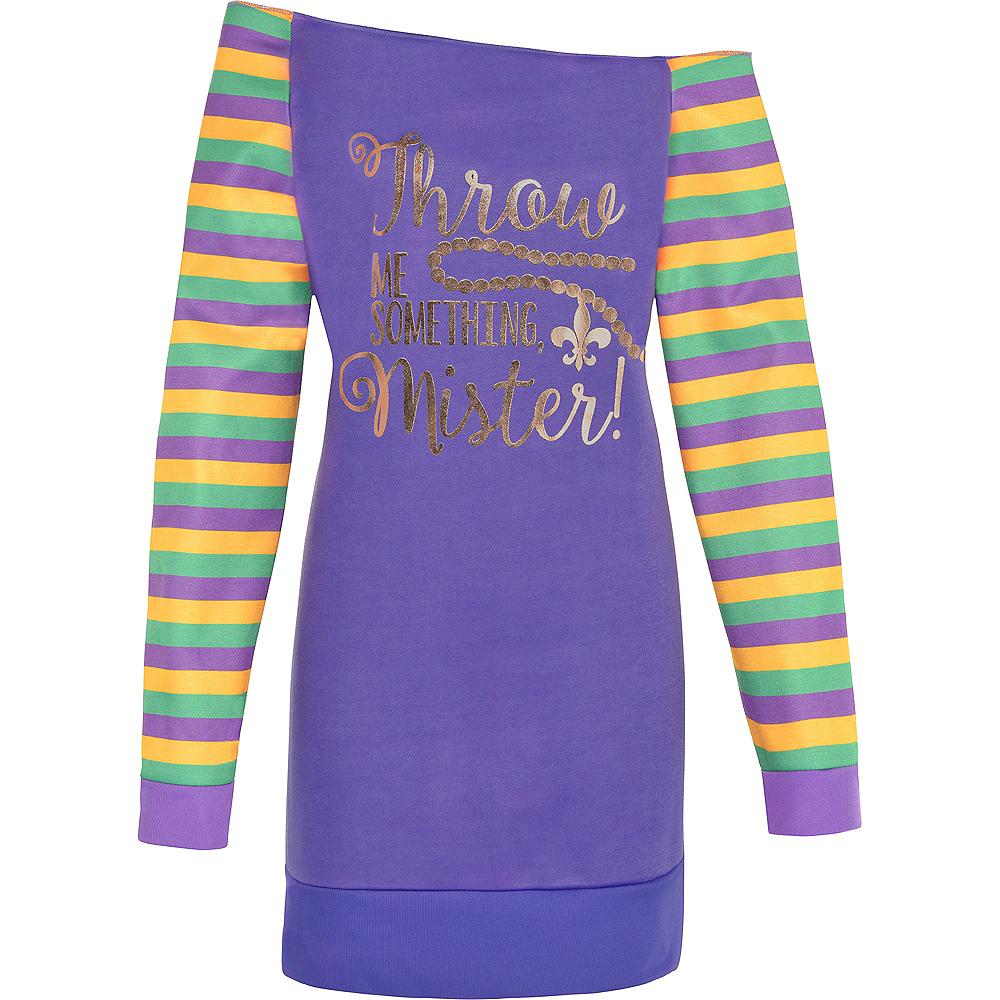 Mardi Gras Off-Shoulder Tunic Image #2