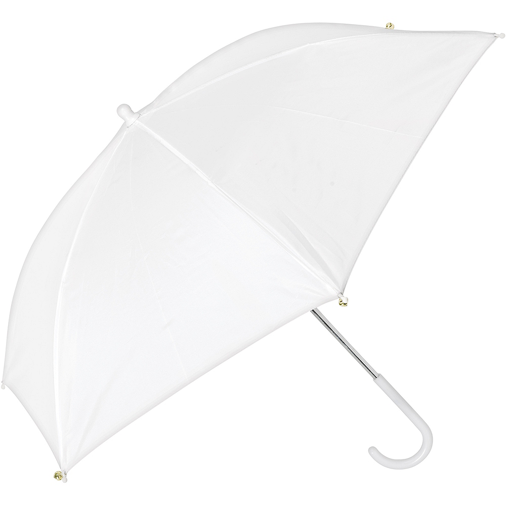White Bell Umbrella Image #1