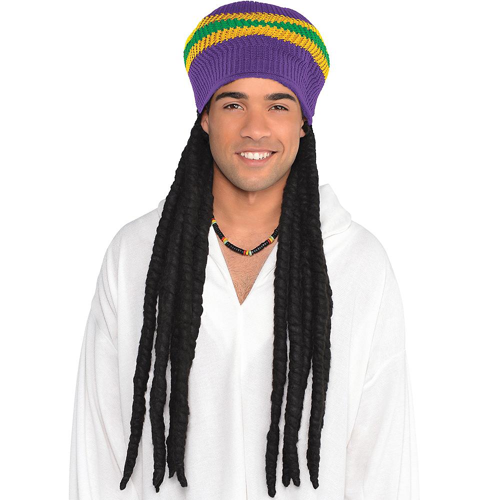 Mardi Gras Dreadlock Wig Image #1