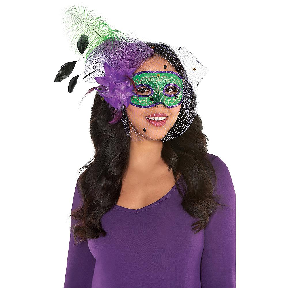 Elegant Mardi Gras Masquerade Mask Image #2