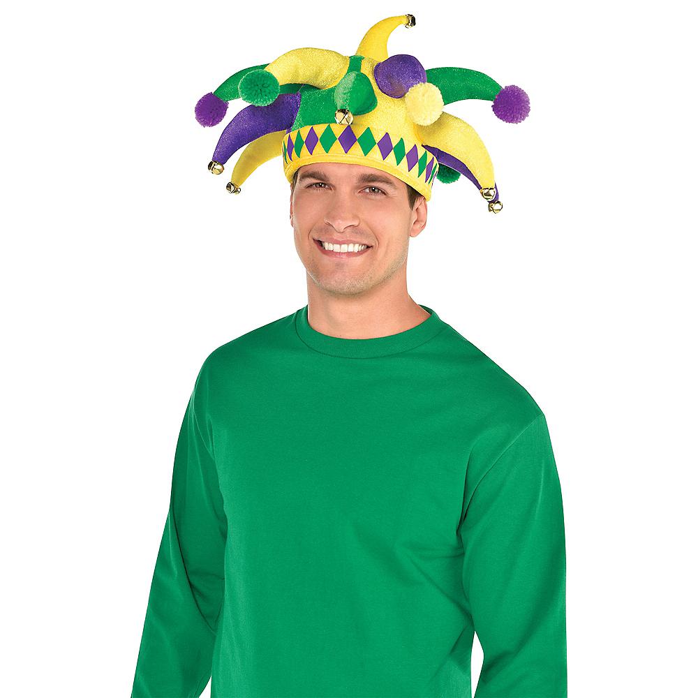 Jingle Bell Mardi Gras Jester Hat Image #2