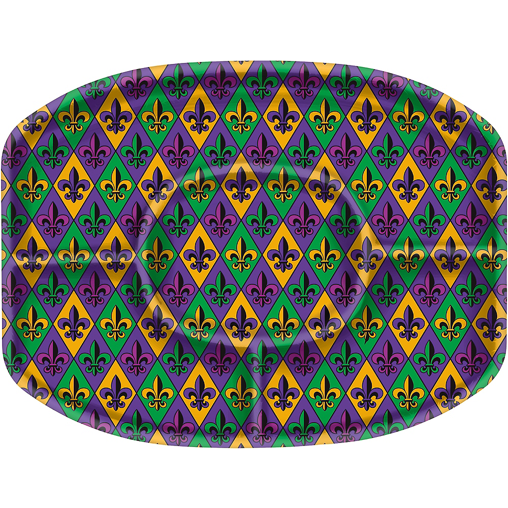 Nav Item for Mardi Gras Sectional Platter Image #1