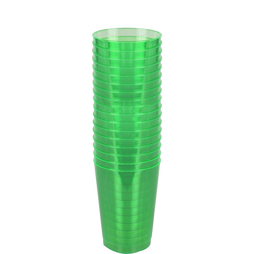 Mardi Gras Plastic Cups 50ct Image #2
