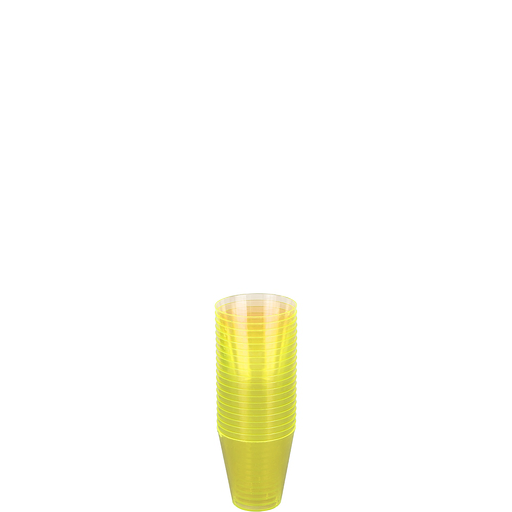 Mardi Gras Plastic Shot Glasses 60ct Image #3