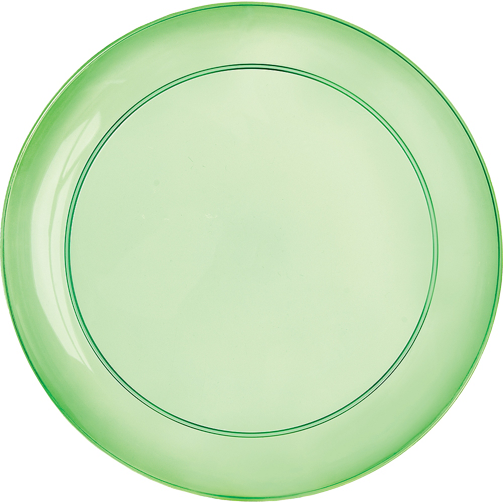 Nav Item for Gold, Green & Purple Lunch Plates 24ct Image #2