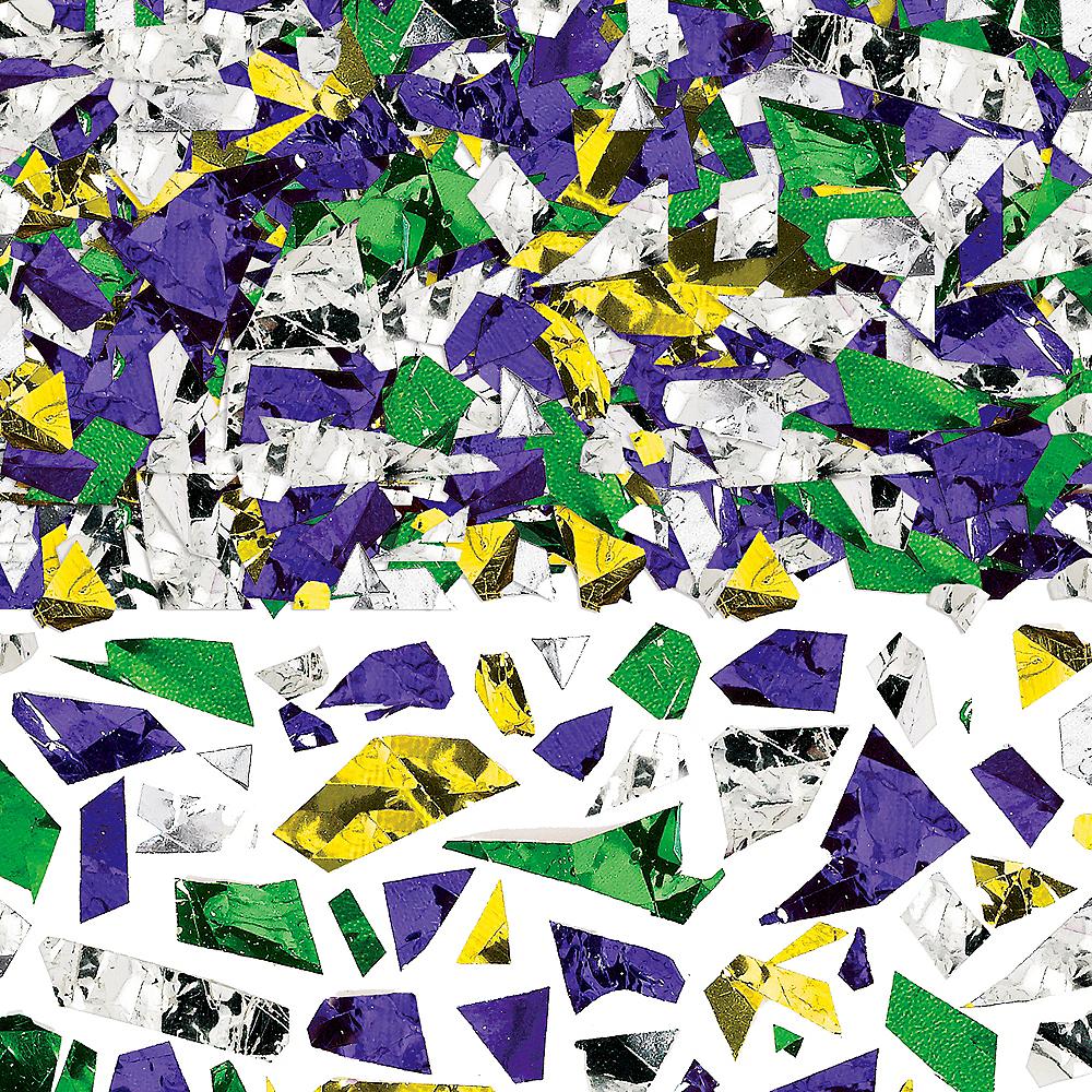 Gold, Green & Purple Confetti Image #1